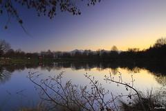 lac de Soues (hautes pyrenees) (oliv340) Tags: picdumidi lacdesoues tarbes hautespyrenees longexposure landscape occitanie sudouest france longueexposition midipyrenees sunset