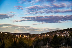 Before the sunset (A.K. 90) Tags: weather cloudscapes cloudssunsetsstormssunrise city hometown building architecture bluesky trees thüringerwald wald forest thuringianforest thuringia beautiful scene view evening sunshine sun sonne sky sonyalpha6300 e18135mm3556oss