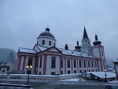 Basilika von Marizell / Mariazell Basilica (ursula.valtiner) Tags: hauptplatz mainsquare basilikavonmariazell mariazellbasilica wallfahrtsort pilgrimageplace mariazell steiermark styria austria autriche österreich