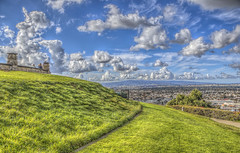 The Grassy Heights (Michael F. Nyiri) Tags: signalhillca signalhill grass hills sky clouds southerncalifornia california cloudscape