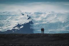 Shared vista (Pascal Riemann) Tags: diamondbeach person island berg gletscher landschaft natur vatnajökull iceland icelandisthecoolest landscape nature outdoor glacier