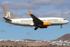 OY-JTY_04 (GH@BHD) Tags: oyjty boeing 7377q8 jtg jettime arrecifeairport lanzarote 737 b737 737700 ace gcrr arrecife aircraft aviation airliner