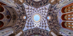 International Pano Awards - II (Marsel van Oosten) Tags: marselvanoosten squiver phototour workshop iran middleeast historical historic house mosque ceiling pattern intricate graphic graphicdesign lookingup wideangle perspective architecture iranian islamic culture nopeople pano panorama award