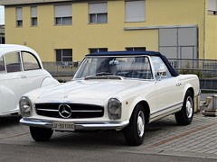 1965 Mercedes-Benz 230 SL (Alessio3373) Tags: 1965 mercedes230sl mercedesbenz oldcars classiccars worldcars convertible cabriolet spider mercedespagoda