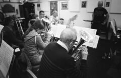 25 Knottingley Silver Band A (I ♥ Minox) Tags: film 2019 knottingley knottingleysilverband brassband windband music musician musicians rehearsal yorkshire westyorkshire olympus om1 om1n olympusom1 olympusom1n ilford hp5 ilfordhp5plus hp51600 1600asa