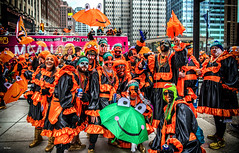 Happy New Year 2020 (Igor Danilov Philadelphia) Tags: frogs mummers philadelphia parade show happy new year 1st day friendly 2020 orange celebration festivity