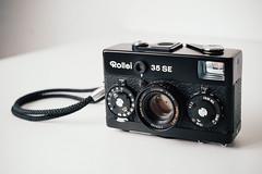 Rollei 35SE (mmartinsson) Tags: cameraporn xf35 35mm digital fujifilmxpro1 camera 840 filmcamera gear 2019 sonnar2 rollei35se