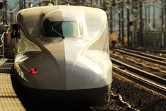 Shinkansen ---Bullet Train--- (Teruhide Tomori) Tags: bullettrain japan japon train railway superexpress jr shinkansen 新幹線 日本 ひかり hikari maibara 米原駅 railroad platform station highspeedtrain 電車 列車 鉄道 n700a