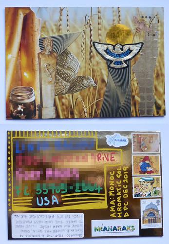 handmade postcard