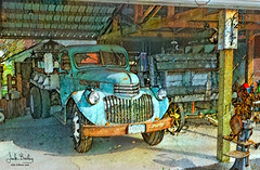Happy Truck Thursday 2020 (Eclectic Jack) Tags: htt thursday truck ddg generator dream deep processing processed process post manipulated