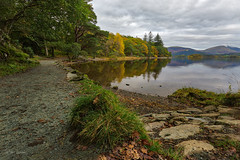 Lakeside colour (Through Bri`s Lens) Tags: lakedistrict derwentwater cumbria lake autumncolour brianspicer canon5dmk3 canon1635f4 leefilters polariser