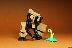 Life Finder Unit 01 (Devid VII) Tags: devid devidvii vii moc mecha drone mech life finder darktan