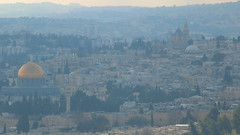 View from Mt. Scopus. (buidl-lemmy) Tags: israel jerusalem mtscopus hebrewuniversity bus34 view aussicht altstadt oldcity templemount zionskirche