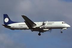 G-BRLY Glasgow 12-7-1993 (Plane Buddy) Tags: gbrly atp ba british glasgow