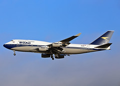 G-BYGC Boeing 747-436 BOAC (British Airways) (Keith B Pics) Tags: keithbpics heathrow egll lhr gbygc 747 boeing b747 ba boac britishairways retro 100years