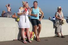 Deal, Kent, 2019 (theo_vermeulen) Tags: deal kent england coast seaside sea candid street drinking