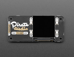 Pirate Audio: 3W Stereo Speaker Amp for Raspberry Pi (adafruit) Tags: 4453 pirateaudio stereospeaker raspberrypi amp accessories electronics speakers new adafruit