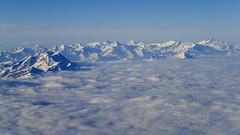 flight scene alps snow landscape plane view 08122018 002 Kopie (Dirk Buse) Tags: flug fenster ausblick alpen nordseite berge mountain wolken himmel blau farbe color fensterplatz mft m43 mu43
