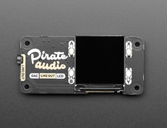 Pimoroni Pirate Audio: 3.5mm Line-out for Raspberry Pi (adafruit) Tags: 4452 pimoroni pirate audio pirateaudio lineout raspberrypi amp boards accessories electronics diy diyelectronics diyprojects projects screens