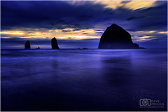 Dream vacation (Dave Arnold Photo) Tags: or ore oregon cannonbeach statebeach statepark pacific beach big coast water outdoor tide wave arnold davearnold davearnoldphotocom pic picture photo photography photograph photographer travel milf tour hot idyllic landscape nude spread sky islands awesome canon 5d mkiii us usa beautiful serene peaceful huge high seastack clatsopcounty ocean wet sea wild nature sunset fantastic american scenic 1635mm professional highway101 cloud pool lightroom photoshop luminar4 topazstudio haystack rock