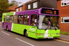 Rare on the 92 (Chris Baines) Tags: ipswich buses dennis super dart east lancs spryte x94 lbj manningtree bendalls court 92 service cattle market