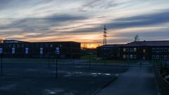 Zollverein sunset (frankdorgathen) Tags: alpha6000 sony18200mm urban himmel sky winter ruhrgebiet ruhrpott ruhrarea stoppenberg essen zechezollverein sunset sundown sonnenuntergang