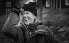 "My love (Sharkland) Tags: portrait woman monochrome face sweden graso porträtt svartvitt kvinna ""ahlenphotography"" nikon d750 uppland"