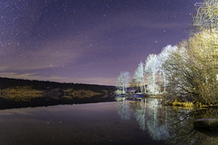 _A733244 (DDPhotographie) Tags: ch vd ddphotographie labbaye lac lacdejoux lake lightpainting night nightscape nuit stars suisse switzerland wwwddphotographiecom étoiles cantonofvaud