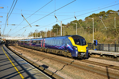 180111 - Sandy - 30/12/19. (TRphotography04) Tags: debranded hull trains adelante 180111 passes sandy 1a93 1033 london kings cross servicce