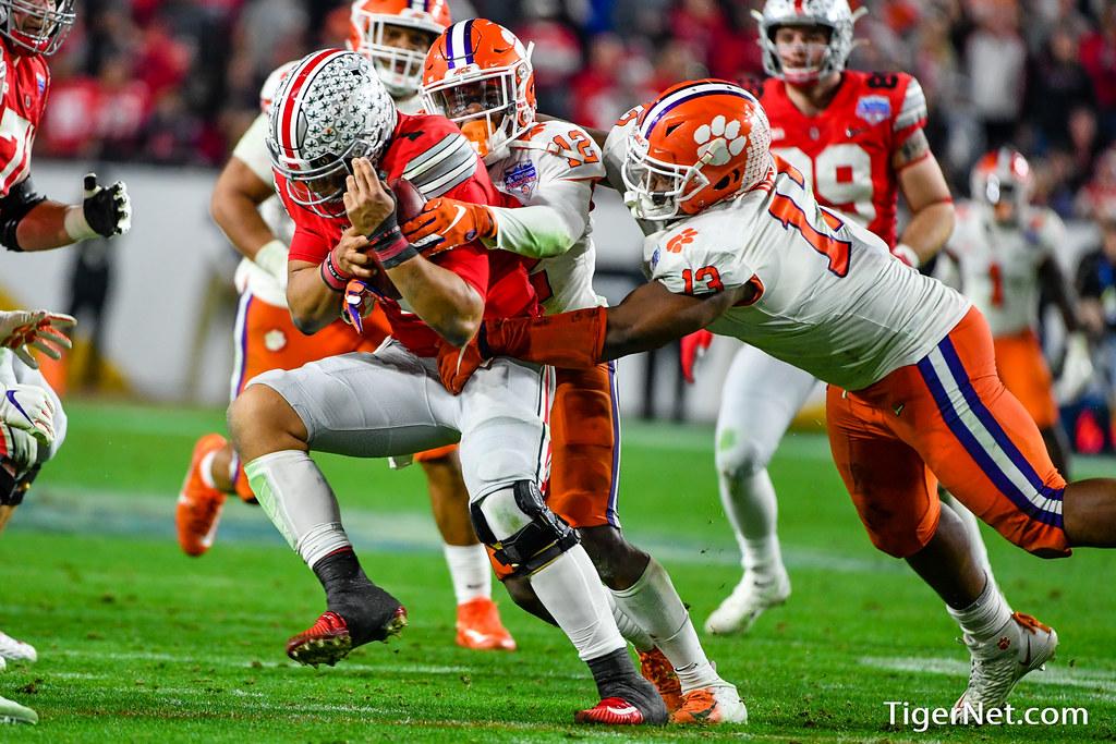 Clemson Photos: kvonwallace, Tyler  Davis, 2019, Football, ohiostate