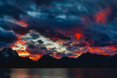 Last Call (blackhawk32) Tags: grandteton grandtetonnationalpark jacksonhole jacksonlake sunset wyoming landscape