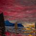 Emil Nolde, Red Evening Sky, 1915, Oil on canvas 9/28/19 #stlartmuseum