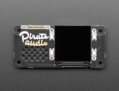 Pirate Audio: Speaker for Raspberry Pi - Built-in 1W Speaker (adafruit) Tags: 4451 pimoroni pirate audio pirateaudio raspberrypi speaker builtinspeaker accessories electronics diy diyelectronics diyprojects projects new newproducts