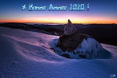 Nouvelle année (Manonlemagnion) Tags: nature paysages montagne neige hiver froid autoportrais vosges 2020 nikond810 1635mmf4