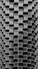 Boxes (tommyajohansson) Tags: winter london geotagged january canarywharf tommyajohansson blackandwhite blancoynegro monochrome blancetnoir svartvitt schwarzundweiss faved