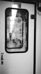 Durchgeblickt (honiigsonne) Tags: view berlin durchblick bahn train window fenster zug black white urban weis schwarz stadt town
