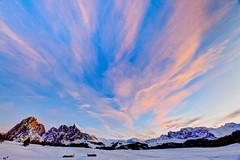Airwaves (pauldunn52) Tags: alpe di siusi dolomites plateau pink sky sunset