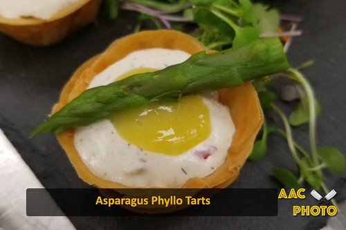 "Asparagus Phyllo Tarts • <a style=""font-size:0.8em;"" href=""http://www.flickr.com/photos/159796538@N03/49317933493/"" target=""_blank"">View on Flickr</a>"