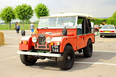 1955 Land Rover Series I (Dirk A.) Tags: psk746 1955 land rover series i