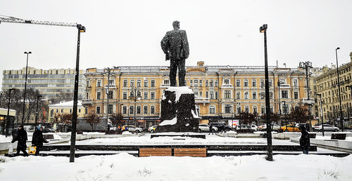 Monumento a Vladimir Mayakovski en Moscú - Rusia