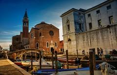 Chiesa San Giacomo (giannipiras555) Tags: chiesa campanile ponte barche chioggia venezia veneto
