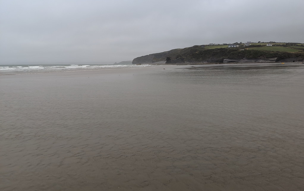 A Grey Day At The Beach