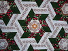the center piece (k15quilter) Tags: patchwork quilt quilting hexagons stars sterne claudiaschmidt