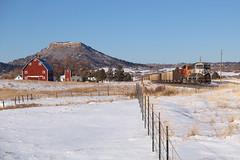 BNSF 9401 Greenland 29 Dec 19 (AK Ween) Tags: bnsf bnsf9401 emd sd70mac greenalnd colorado jointline larkspurbutte train railroad wagonwheel execmac grinstein