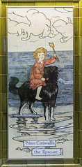Photo of Conquest Hospital, Hastings - Painted nursery rhyme tiles