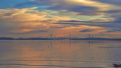 the River Forth (johnny_9956) Tags: canon river forth scotland 7d uk water bridges sky outdoor outside colours