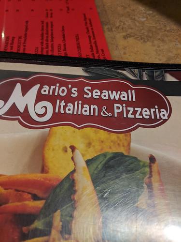 Dinner at Mario's Seawall
