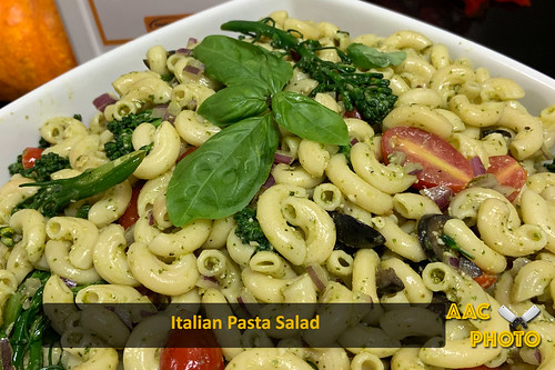 "Italian Pasta Salad • <a style=""font-size:0.8em;"" href=""http://www.flickr.com/photos/159796538@N03/49318637992/"" target=""_blank"">View on Flickr</a>"