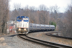 Train #42 At Duncannon (DJ Witty) Tags: railroad amtrak photography rr b328wh passengertrain ge dieselelectriclocomotive duncannon pittsburghline