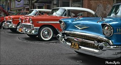 Tris (Photos By Vic) Tags: 1955 55 1956 56 1957 57 classic car carshow chevy chevrolet antique automobile vehicle vintage tris